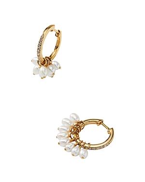 Nadri Nectar Swarovski Glass Pearl Shaky Hoop Earrings-Jewelry & Accessories