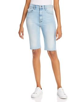 FRAME - Le Vintage Denim Bermuda Shorts