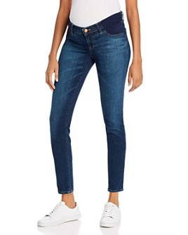 J Brand - Mama J Mid-Rise Super Skinny Maternity Jeans in Eco Sublime