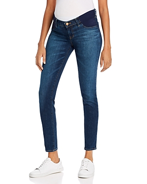 J Brand Mama J Mid-Rise Super Skinny Maternity Jeans in Eco Sublime