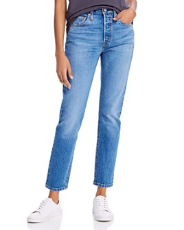 Levi's - 501 High-Rise Skinny Jeans in Jive Ship