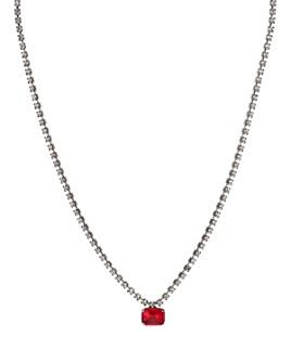 """AQUA - Red Pendant Necklace, 14"""" - 100% Exclusive"""