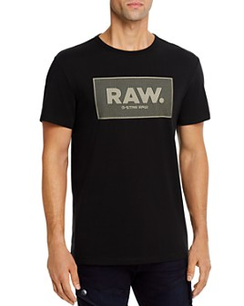 G-STAR RAW - Cotton Boxed Logo Graphic Tee