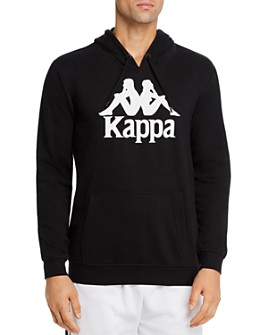 KAPPA - Authentic Zimim Cotton French Terry Logo-Print Slim Fit Hoodie