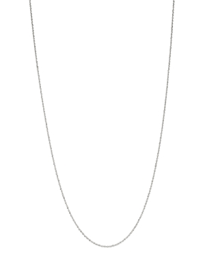 Perfectina Link Chain Necklace in 14K White Gold