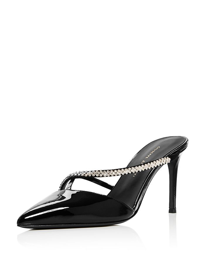 Giuseppe Zanotti - Women's Embellished Slip On High-Heel Pumps