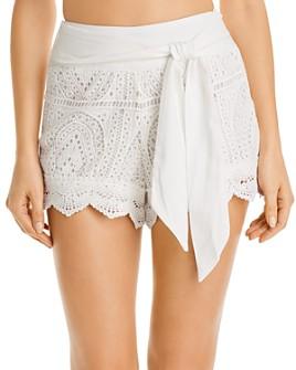 Surf Gypsy - Crochet Cotton Shorts Swim Cover-Up