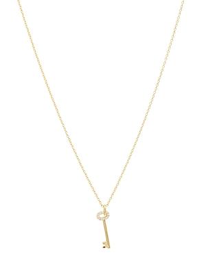 Gorjana Kara Key Pendant Necklace, 16-18-Jewelry & Accessories