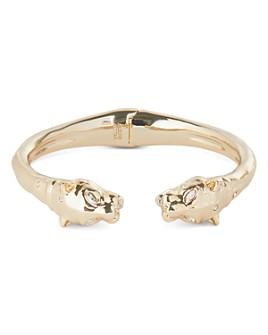 Alexis Bittar - Panther Head Hinge Cuff Bracelet