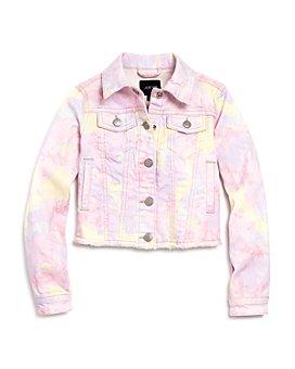Joe's Jeans - Girls' Tie-Dyed Denim Jacket, Big Kid - 100% Exclusive