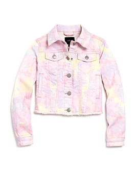 Joe's Jeans - Girls' Tie-Dyed Denim Jacket, Big Kid - 100% Exclusive