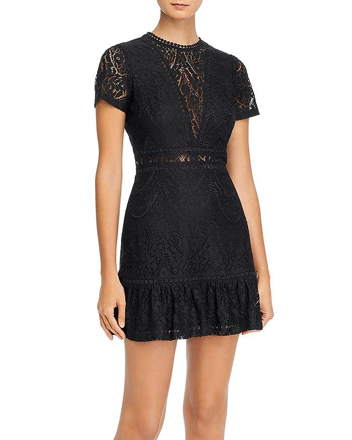 AQUA - Lace Mini Dress