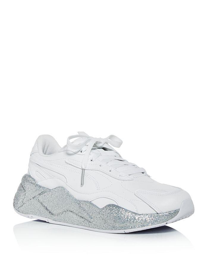 PUMA - Women's RS-X³ Glitz Chunky Low-Top Sneakers