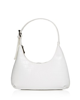 AQUA - Croc-Embossed Mini Hobo Bag - 100% Exclusive