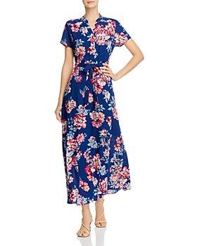 nanette Nanette Lepore - Floral Tie-Waist Maxi Dress