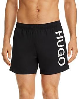HUGO - Abas Logo Graphic Swim Trunks