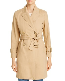 Avec Les Filles - Double-Breasted Trench Coat - 100% Exclusive