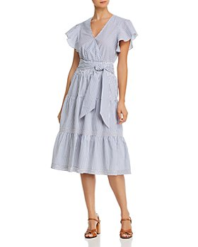 Parker - Bessie Ruffled Midi Dress