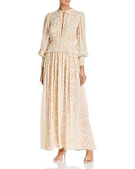 WeWoreWhat - Addison Ruffled Maxi Dress