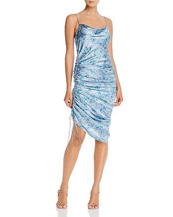 Cinq à Sept - Sapir Ruched Silk Column Dress