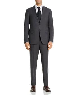 Z Zegna - Micro-Check Slim Fit Suit