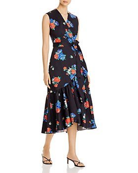 Tory Burch - Printed Wrap Dress
