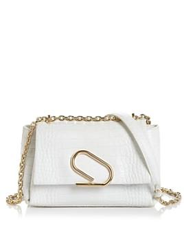 3.1 Phillip Lim - Alix Small Embossed Leather Shoulder Bag