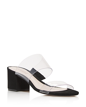 Schutz Women\\\'s Victorie Mid-Heel Sandals