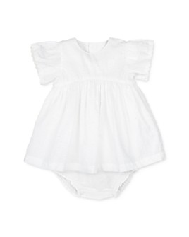 Oliver & Rain - Girls' Cotton Lace Dress Set - Baby