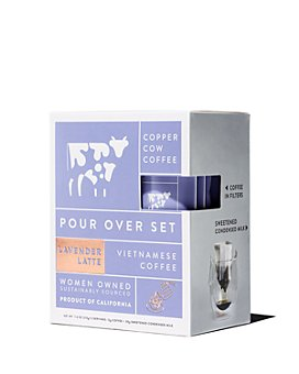 Copper Cow Coffee - Lavender Latte Pour Over Set - Pack of 5