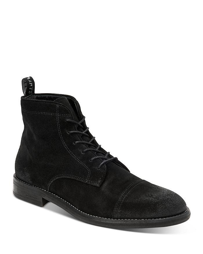 ALLSAINTS - Men's Harland Suede Lace-Up Boots