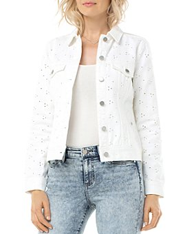 Liverpool Los Angeles - Eyelet Denim Jacket