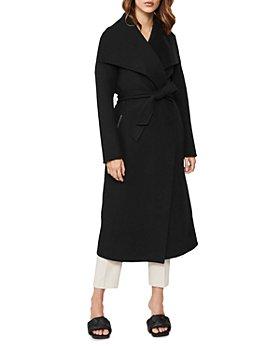 Mackage - Mai Lightweight Wool Wrap Coat