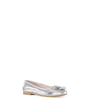 Nina Girls\\\' Estela Embellished Ballet Flat - Little Kid, Big Kid