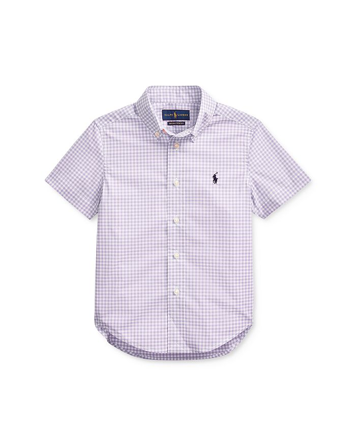 Ralph Lauren - Boys' Cotton Gingham Poplin Shirt - Little Kid