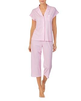 Ralph Lauren - Printed Knit Capri Pajama Set