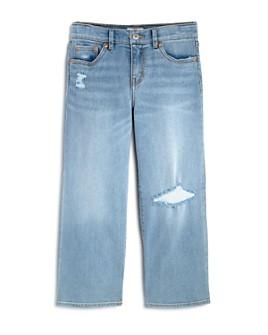 Levi's - Girls' Ripped Wide-Leg Jeans - Big Kid