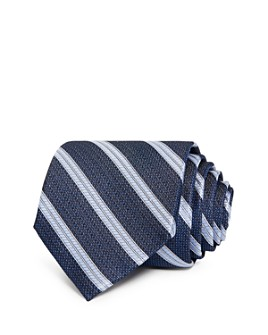 The Men's Store at Bloomingdale's - Fulton Textured Stripe Silk Classic Tie - 100% Exclusive