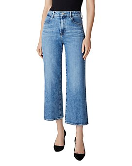 J Brand - Joan High-Rise Crop Wide Leg Jeans in Chadron