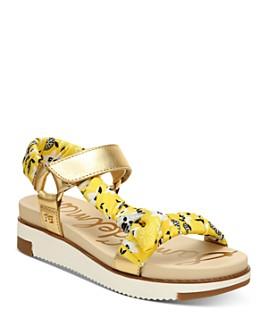 Sam Edelman - Women's Ashie Strappy Wedge Sandals