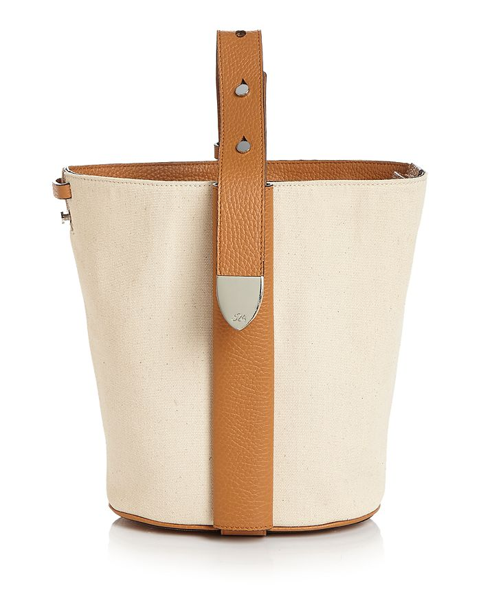 324 New York - Anni Small Leather Bucket Bag