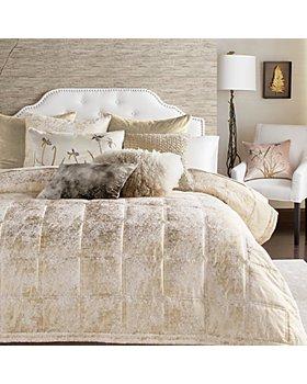 Michael Aram - Metallic Textured Bedding Collection