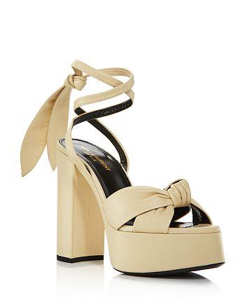 Saint Laurent - Women's Bianca 85 Platform Sandals