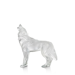 Lalique Wolf Sculpture, Limited Edition of 88 Pieces