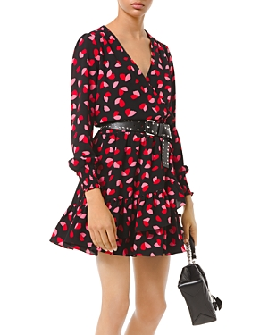 Michael Michael Kors Printed Wrap Dress-Women