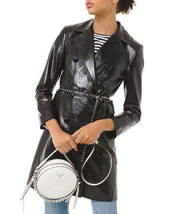 MICHAEL Michael Kors - Patent-Leather Trench Coat