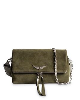Zadig & Voltaire - Rocky Suede Crossbody Bag