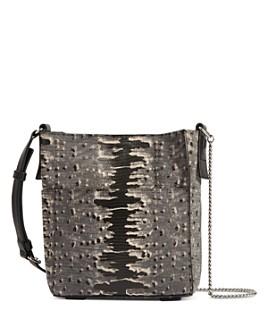 ALLSAINTS - Adelina Mini Embossed Leather Tote