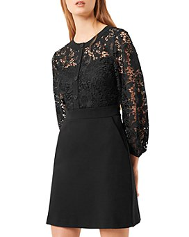 FRENCH CONNECTION - Shema Lace A-Line Mini Dress
