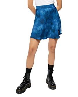 Free People - Martine Flirt Tie-Dyed Mini Skirt